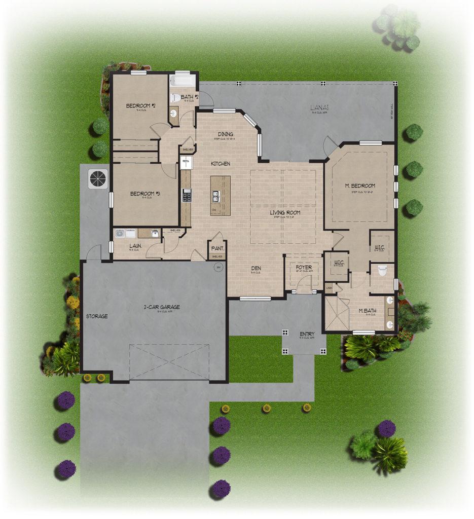 The Catalina Floor Plan